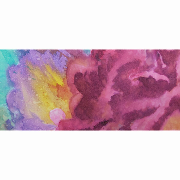 Corals 1, detalle 6 de acuarela de Macarena Sanz