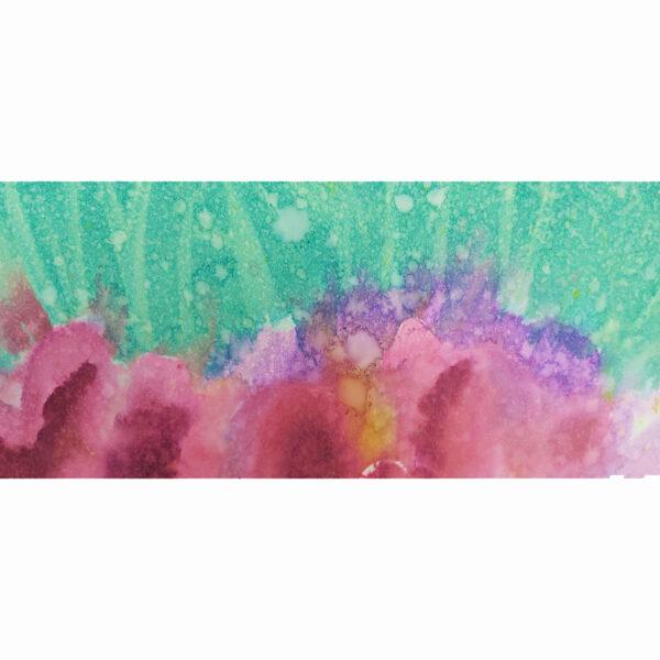 Corals 1, detalle 5 de acuarela de Macarena Sanz
