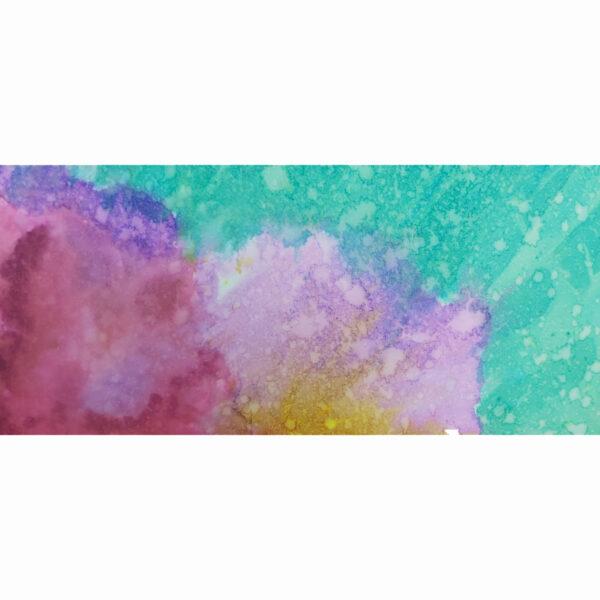 Corals 1, detalle 4 de acuarela de Macarena Sanz