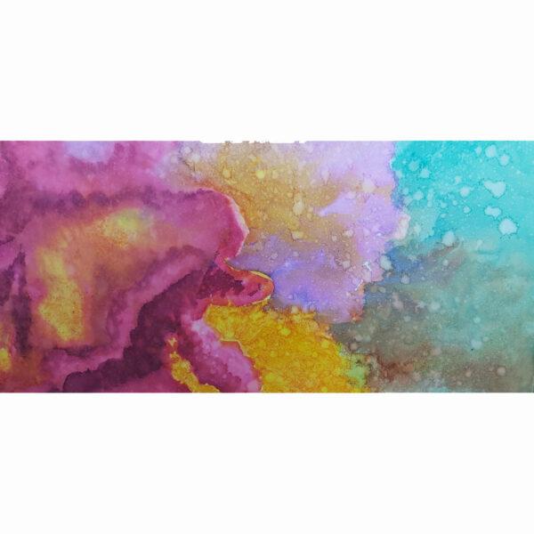 Corals 1, detalle de acuarela de Macarena Sanz