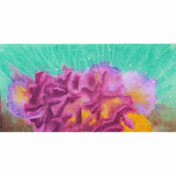 Corals 1, acuarela de Macarena Sanz
